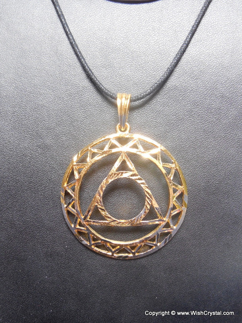 Metal casted throat chakra pendant wishcrystal metal casted throat chakra pendant aloadofball Gallery