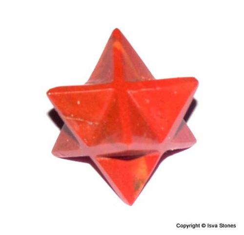 Red Jasper Merkaba Crystal Star