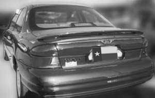 Ford Contour 1998-2001 Factory Post Lighted Rear Trunk Spoiler