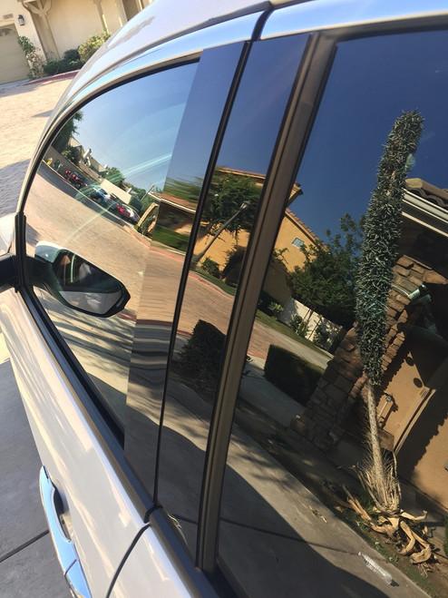 Jeep Grand Cherokee 2011-2017 Glossy Black Pillar Posts Trim 8PCS