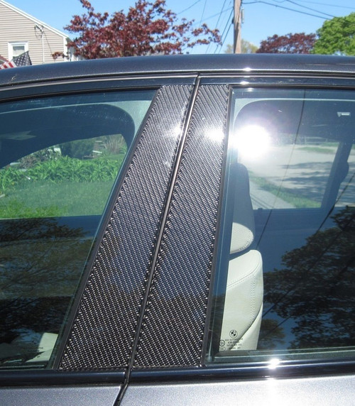 Dodge Dart 2013-2017 Real Carbon Fiber Pillar Posts Trim 6PCS