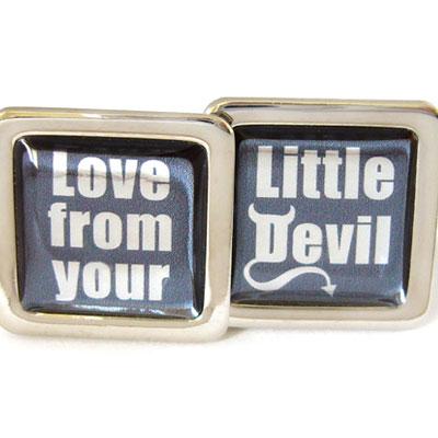 Cufflinks From Your Little Devil