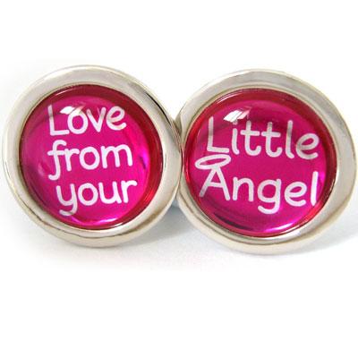 Cufflinks Love From Your Little Angel