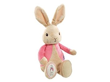 2 Tier New Baby Twin Girls Nappy Cake (Flopsy Bunny)