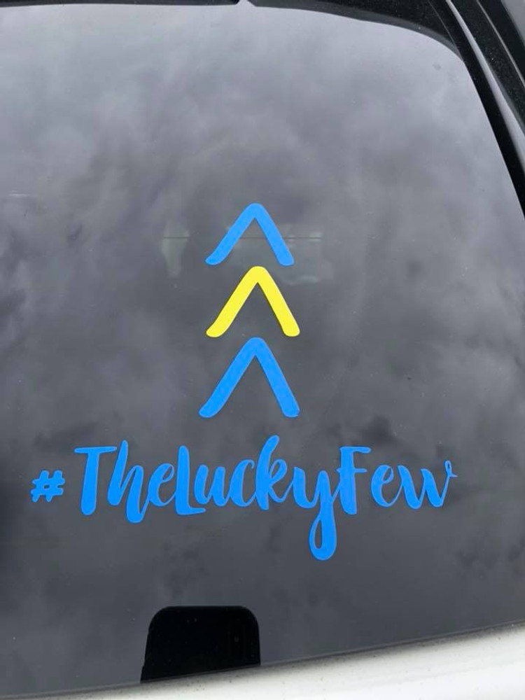 #TheLuckyFew-Blue and Yellow