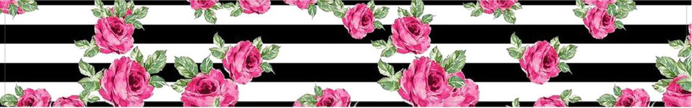 Stripes and Roses
