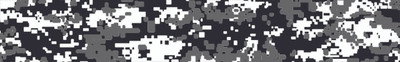Digital Camo Black and white