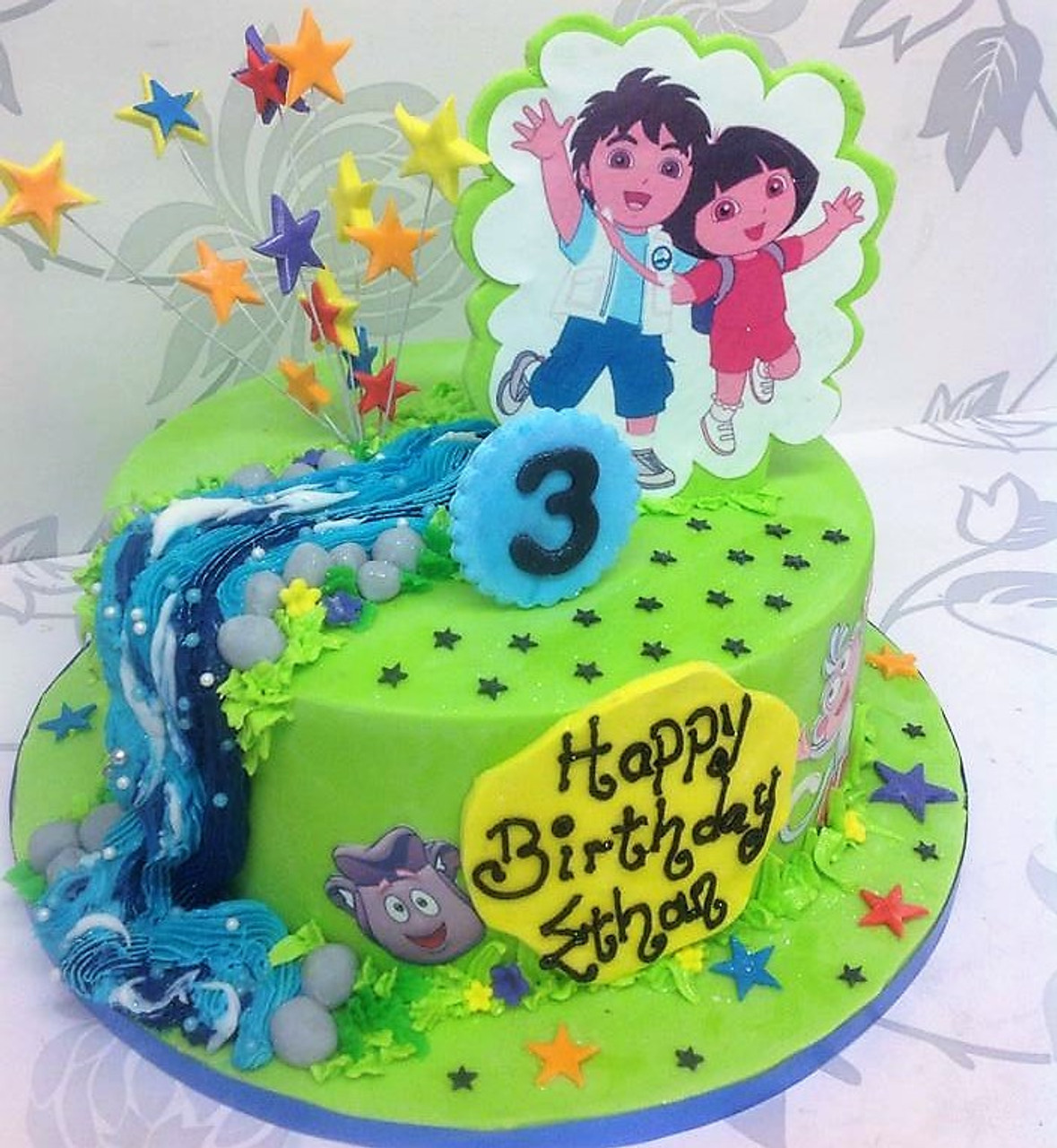 Dora the Explorer Cake Aberdeen