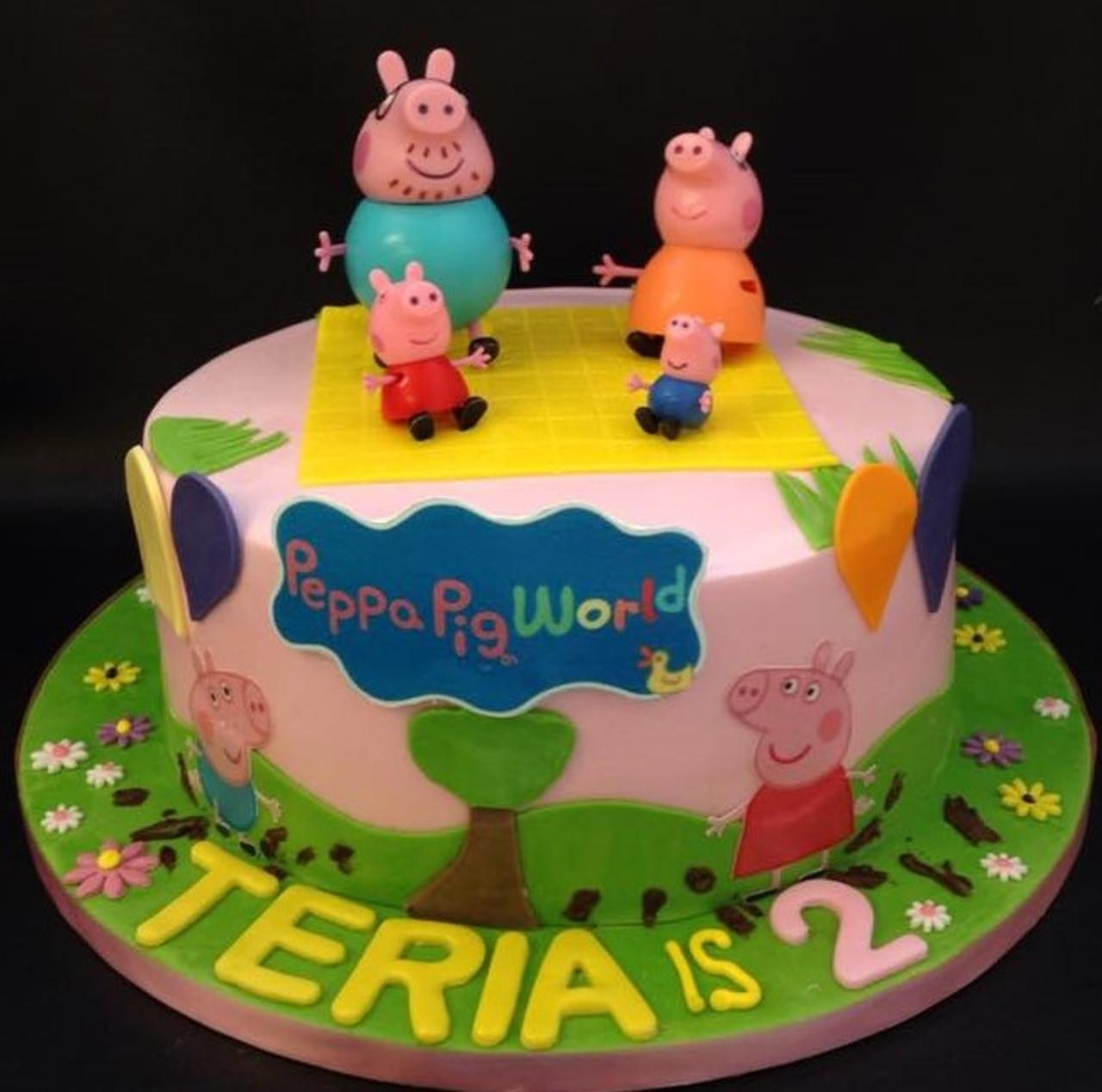 Cheesecake Shop Peppa Pig Cake