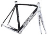 Raleigh Militis Carbon Frameset, White & Silver Accents | Daily Deal