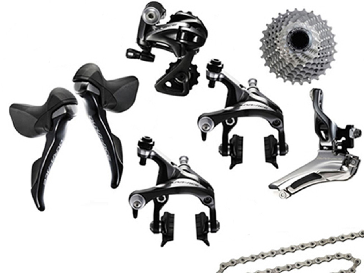 Texas Cyclesport Shimano Dura-Ace 9000 STI 6 piece Upgrade