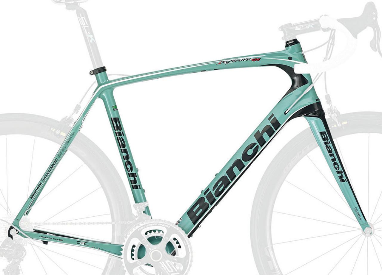 Texas Cyclesport Bianchi C2C Infinito CV Frameset, Celeste Green BI ...