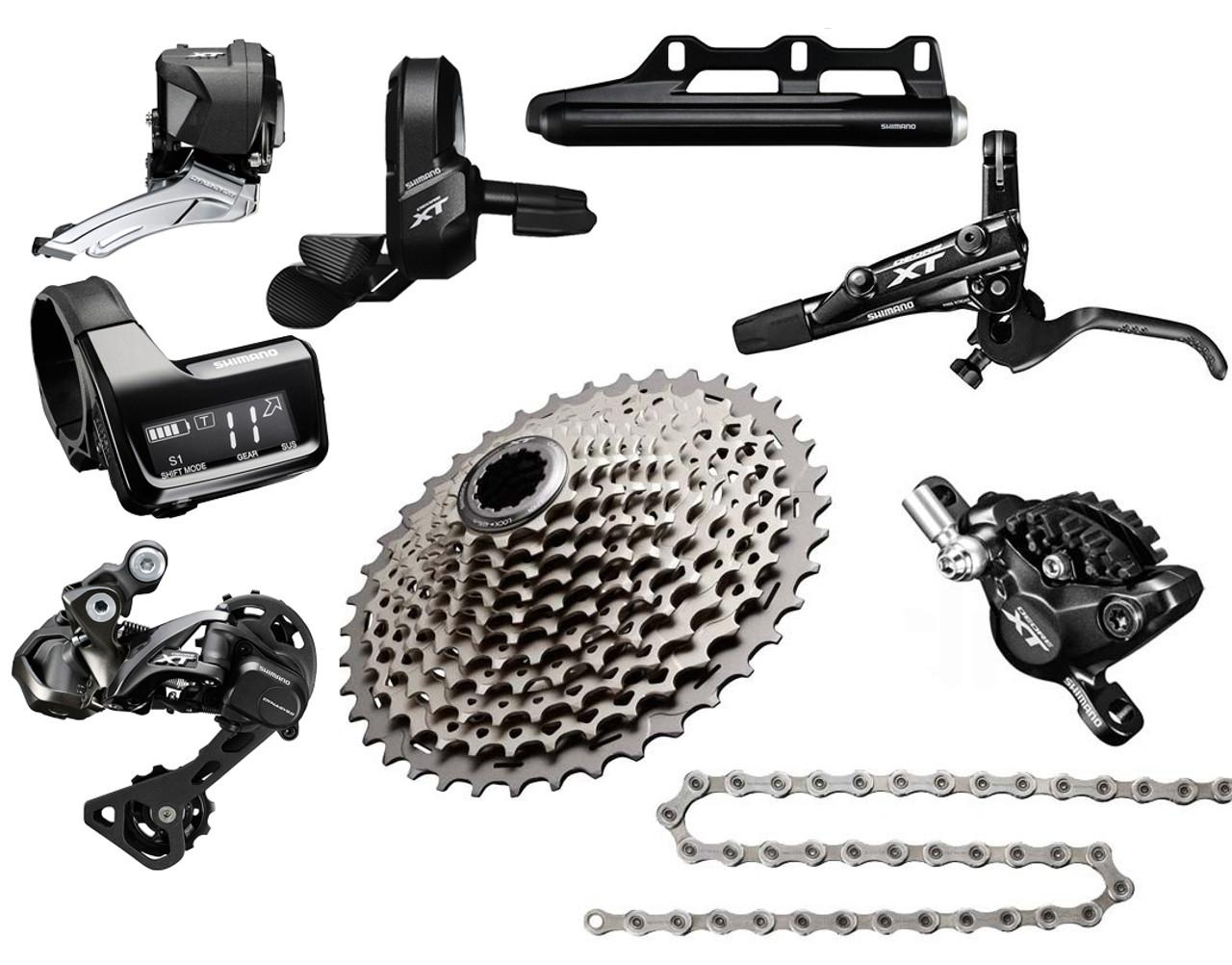 Shimano Xt Di2 Wiring Diagram Diy Diagrams Tt Texas Cyclesport 8050 9 Piece Upgrade Kit 9u Rh Texascyclesport Com Ultegra 6770 Group