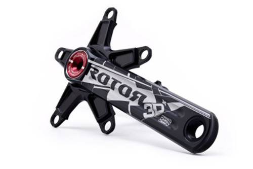 Rotor 3D Plus Compact 10 & 11 speed Crank with Optional Chainrings