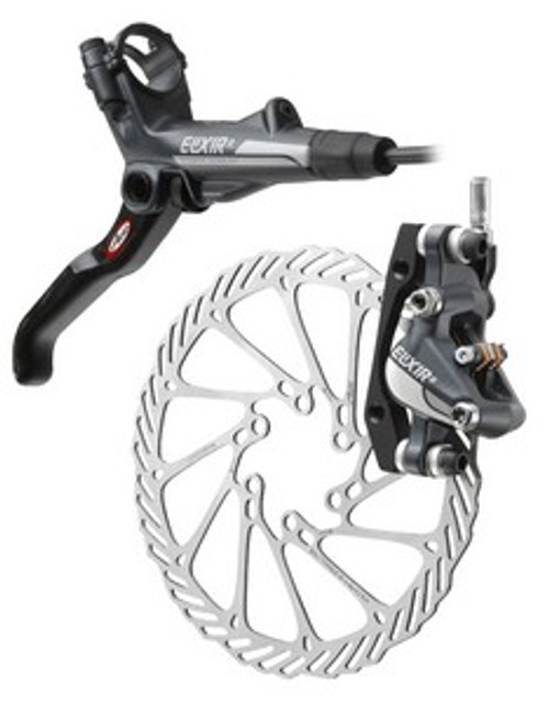Avid Elixir 7 Hydraulic Front Disc Brake Caliper and Rotor
