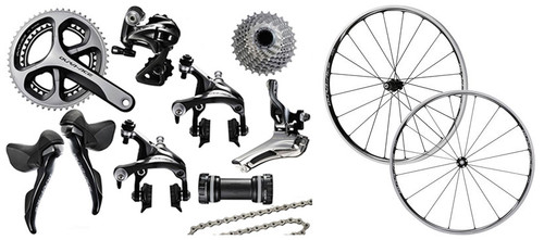 Shimano Dura-Ace 9000 STI Groupset with Choice of Wheelset