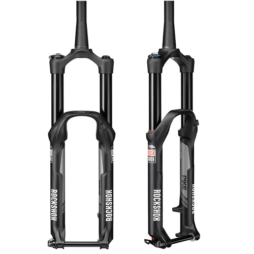 "Rock Shox Pike RCT3 29"" Solo Air 150mm Black 51 Suspension Fork"