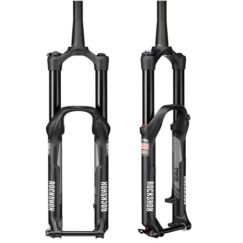 "Rock Shox Pike RCT3 27.5"" Solo Air 160mm Black Suspension Fork"