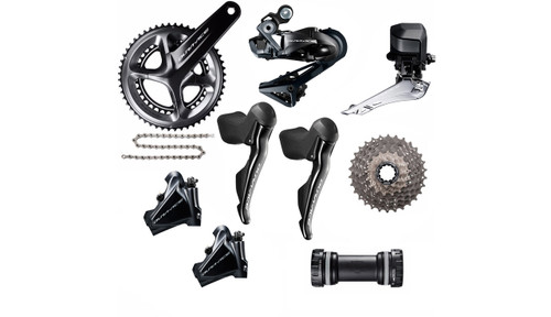 Shimano  Dura-Ace  R9170  Hydraulic Flat Mount Di2 Groupset | 25th Anniversary Deal
