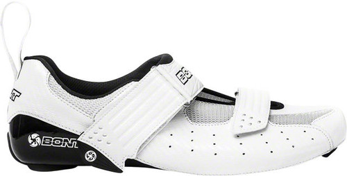Bont Riot Cycling Road | Tri Shoes, White