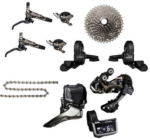 Shimano XTR 9050 Di2 9 piece Upgrade Kit