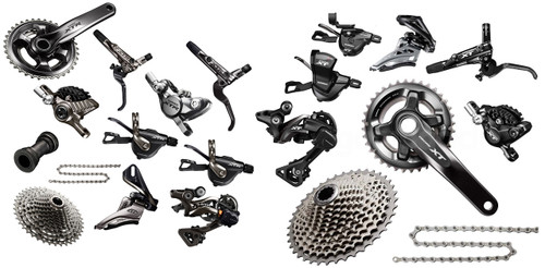 Shimano Mountain XTR / XT Bike Build Kit