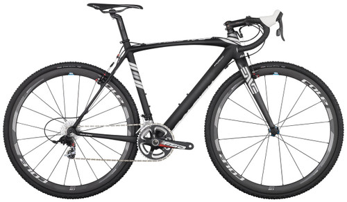Raleigh RXC Pro Disc Campagnolo Ergo equipped Carbon Bicycle, White & Silver Accents - Build It Your Way