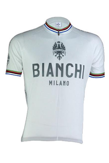 Bianchi Pride Jersey, White World Champion