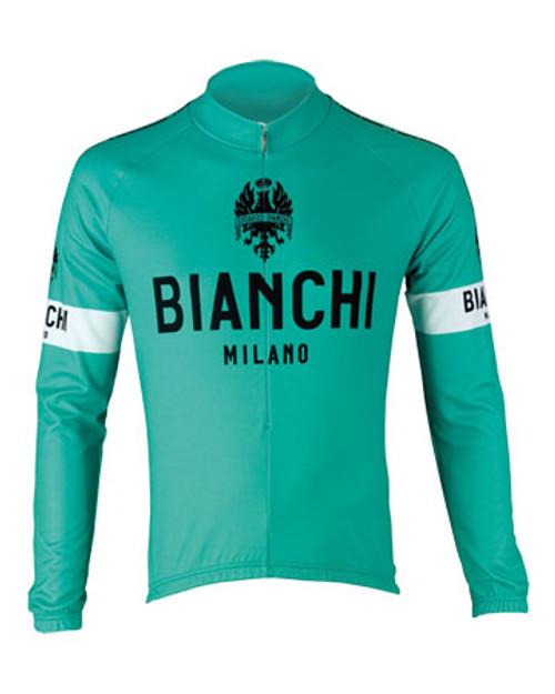 Bianchi Pride Long Sleeve Jersey, Celeste Green