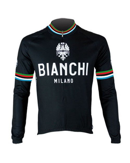 Bianchi Pride Long Sleeve Jersey, Black
