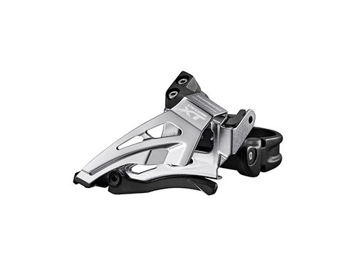 Shimano M8025-L Front Derailleur, Conventional 2x11 Top Swing, Low Clamp