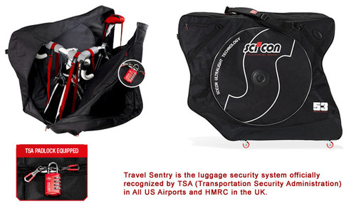 Sci-Con AeroComfort Plus 2.0 TSA Bike Travel Case