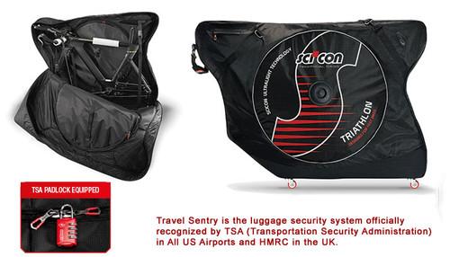 Sci-Con AeroComfort Plus Triathlon TSA Bike Travel Case