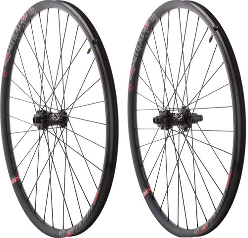 "Industry Nine Torch Enduro 27.5"" F15 / R12mm E-Thru Wheelset, Shimano HG"