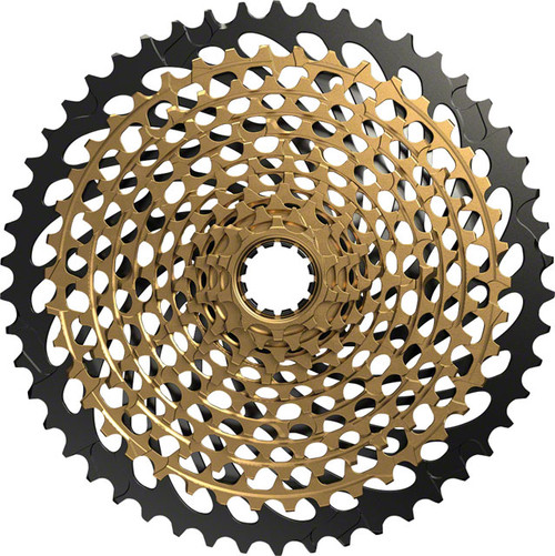 SRAM XG-1299 Eagle Cassette, 10-50, 12 Speed, Gold