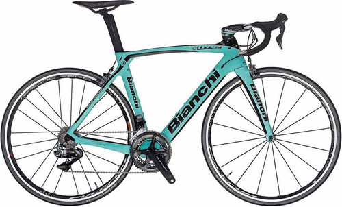 Bianchi Oltre XR.4 Shimano Di2 equipped Carbon Bicycle, Matte Celeste Green - Build It Your Way