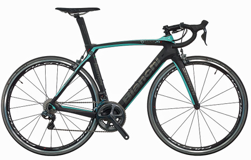 Bianchi Oltre XR.4 Shimano Di2 equipped Carbon Bicycle, Matte Black - Build It Your Way