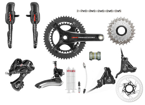 Campagnolo Record H11 Hydraulic Flat Mount Ergo Groupset | 25th Anniversary Deal