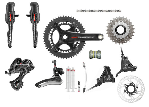 Campagnolo Super Record H11 Hydraulic Flat Mount Ergo Groupset