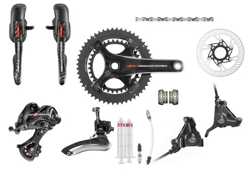 Campagnolo Super Record H11 Hydraulic Flat Mount Ergo Groupset (less cassette)