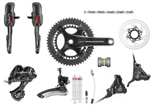 Campagnolo Record H11 Hydraulic Flat Mount Ergo Groupset (less cassette)
