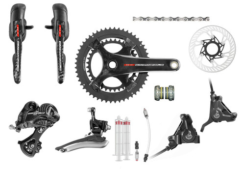 Campagnolo Chorus H11 Hydraulic Flat Mount Ergo Groupset (less cassette)