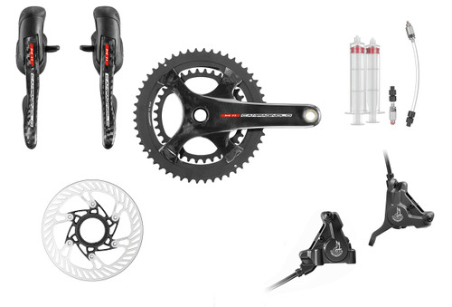 Campagnolo H11 Hydraulic Flat Mount Ergo Conversion Kit | 25th Anniversary Deal
