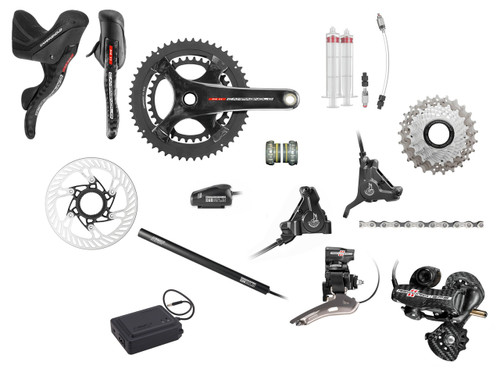 Campagnolo Record H11 Hydraulic Flat Mount EPS Groupset