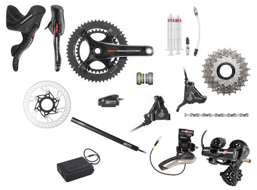 Campagnolo Super Record H11 Hydraulic Flat Mount EPS Groupset