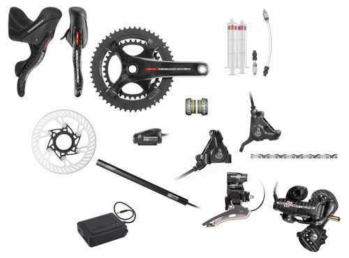 Campagnolo Record H11 Hydraulic Flat Mount EPS Groupset (less cassette)