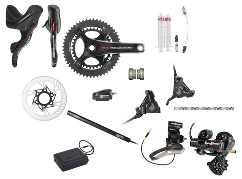 Campagnolo Super Record H11 Hydraulic Flat Mount EPS Groupset (less cassette)