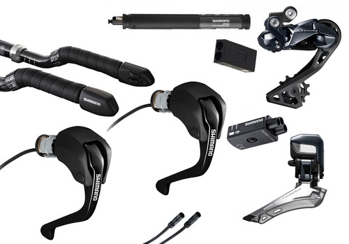 Shimano Ultegra  R8060 Di2 Time Trial 8 Piece Conversion Kit | 25th Anniversary Deal