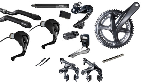 Shimano Ultegra  R8060 Di2 Time Trial Groupset (less cassette)