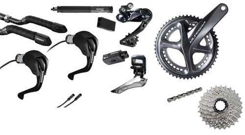 Shimano Ultegra  R8060 Di2 Time Trial Groupset (less calipers)